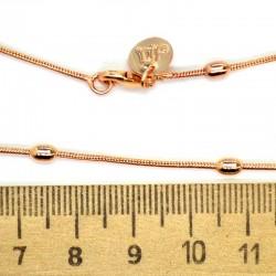 Цепь шарики овальные маленькие М38 0,1х60 см