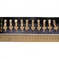 Уточка лист золотистая (2 шт) М130