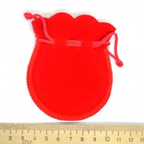 Мешок подарочный бархат маленький (3 шт) М8