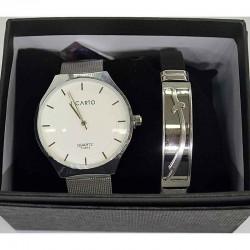 Часы мужские с браслетом в подарочной упаковке М23
