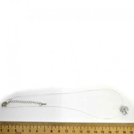 Леска вишня в серебре М194