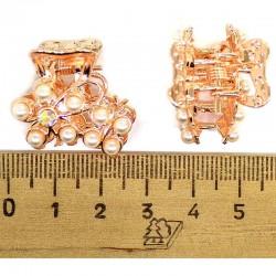 Краб золотистый с жемчугом (2 шт) М153