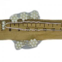 Шпилька цветок жемчужный (20 шт) М32