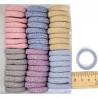 Резинка люрекс цветная тмн 3 см (1 уп) М119
