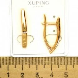 Серьги дуга 2,5 см в золоте М501