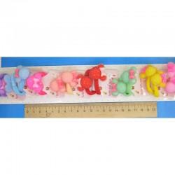 Резинка мышка сахарная микс пара(2 шт) М193