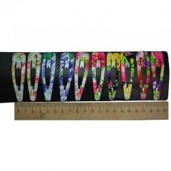Зажим фиалки 6,5 см 1 уп М367