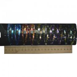 Зажим цветы мелкие тмн 6,5 см 1 уп М369