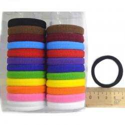 Резинка для волос в коробочке (24 шт) микс М149