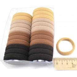 Резинка для волос цветная 24 шт