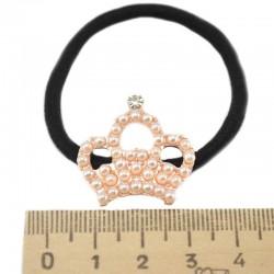 Резинка для волос корона малая