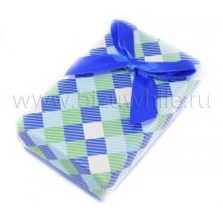 Футляр коробочка для комплекта большая синяя