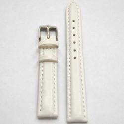 Ремень КРОКО 10 мм белый