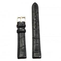 Ремень КРОКО 12 мм черный