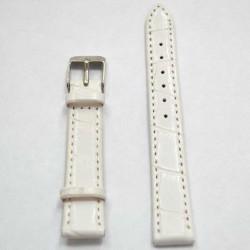 Ремень КРОКО 14 мм белый