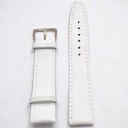 Ремень для часов перфект 26мм белый