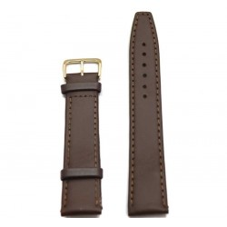Ремень для часов перфект 26мм коричневый