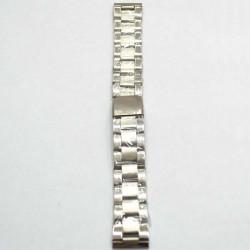 Ремень-браслет для часов хром 20мм