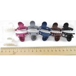 Краб для волос каучуковый маленький (2 шт)