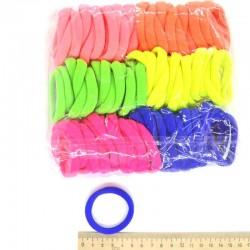 Резинка для волос цветная (90шт)