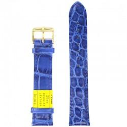 Ремень для часов ахи 20 мм синий
