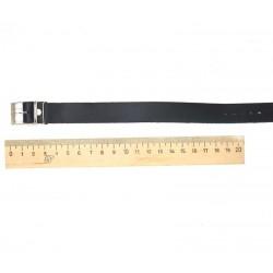 Ремень сплошной 18мм черный