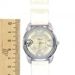 Часы с белым ремнем бц II