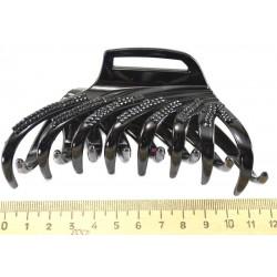 Краб с зубцами камешки черный