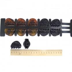 Краб средний ит пластик микс(2 шт) 4 см гарбушка