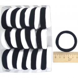 Резинка для волос ч/б(30 шт)