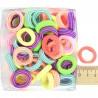 Резинка эластичная цветная полосатая(1 уп)