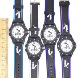 Часы P силиконовый ремень микс(1 шт) IV