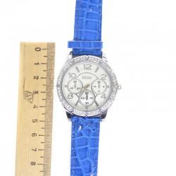 Часы K синий ремень V