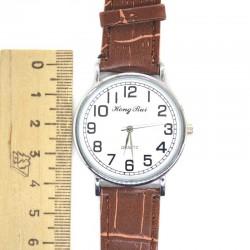 Часы Н коричневый ремень