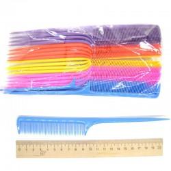 Расческа с длинным хвостиком микс(1 шт)