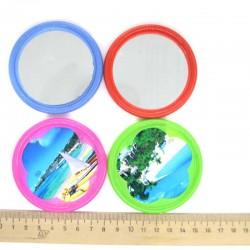 Зеркало косметическое круг D 7 см (1 шт)