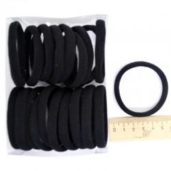 Резинка черная (20шт) 5,5х0,8см