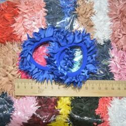 Резинка рюша цвет микс пара(2 шт)