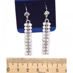 Серьги пхх модель 4 серебро