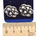 Серьги пхх модель 15 серебро