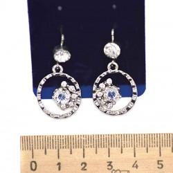 Серьги пхх модель 16 серебро
