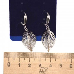 Серьги пхх модель 17 серебро