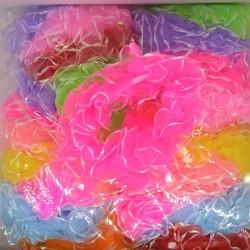Резинка рюша цветная, микс (1 шт)