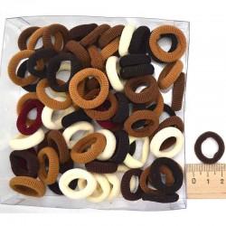 Резинка для волос в коробочке кор (1 уп)