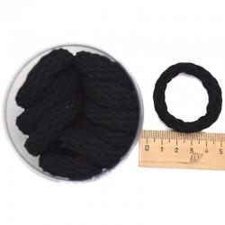 Резинка фактурный узор черная микс (1 уп) Р40