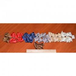Резинка Д24 бант люрекс микс пара(2 шт)