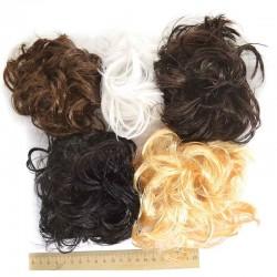 Резинка имитация волос микс (1 шт) Р43