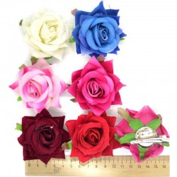 Уточка Роза микс 1 шт М28