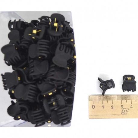 Краб каучук 1,5см черный (12 шт) М47
