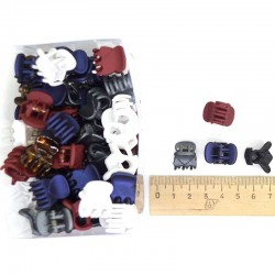 Краб каучук 1,5 см цветной (1 уп) М48